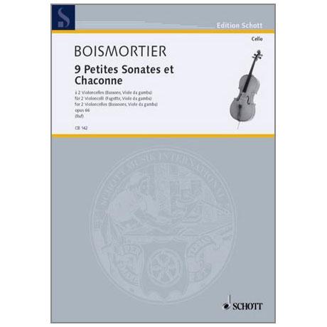 Boismortier, J.B.d.: 9 Petites Sonates et Chaconne Op.66