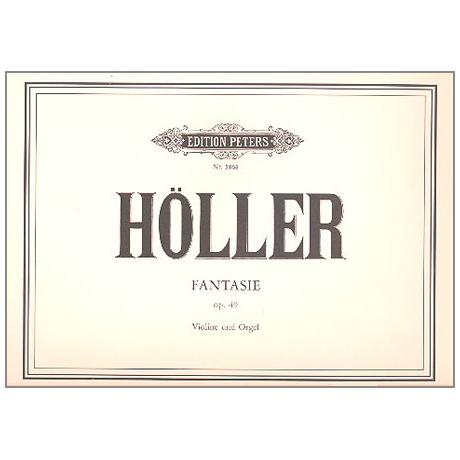 Höller, K.: Fantasie Op. 49