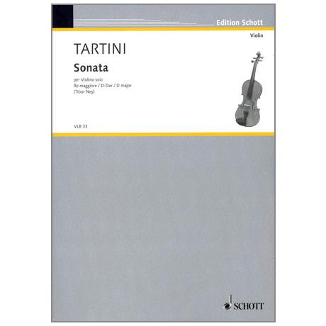 Tartini, G.: Sonate D-Dur
