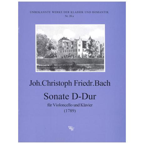 Bach, J. Chr. F.: Violoncellosonate D-Dur