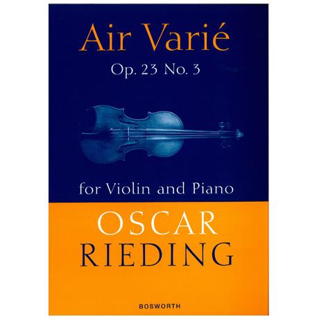 Rieding, O.: Air varie op.23 Nr. 3