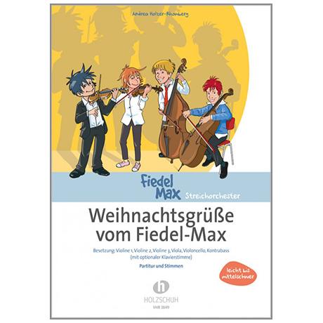 Holzer-Rhomberg, A.: Weihnachtsgrüße vom Fiedel Max