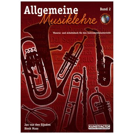 Allgemeine Musiklehre Band 2 (+CD)