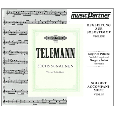 Telemann, G. Ph.: 6 Violinsonatinen - nur CD