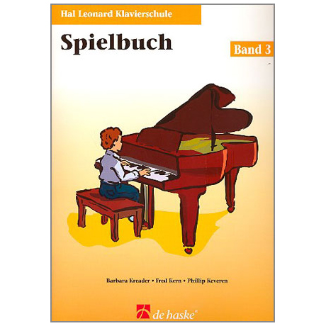 Kreader, B: Hal Leonard Klavierschule Band 3