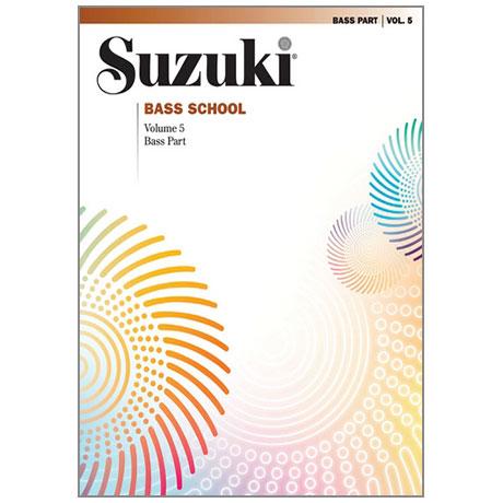 Suzuki Bass School Vol.5