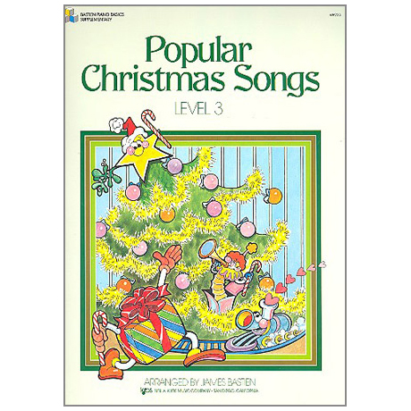 Bastien, J.: Popular Christmas Songs – Stufe 3