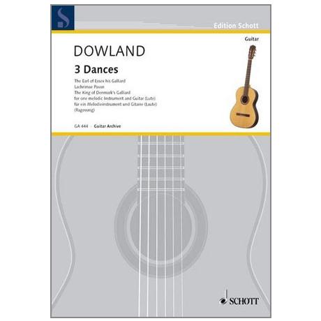 Dowland, J.: 3 Tänze