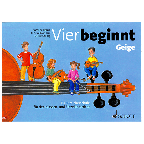 Braun, K. : Vier beginnt : Violine