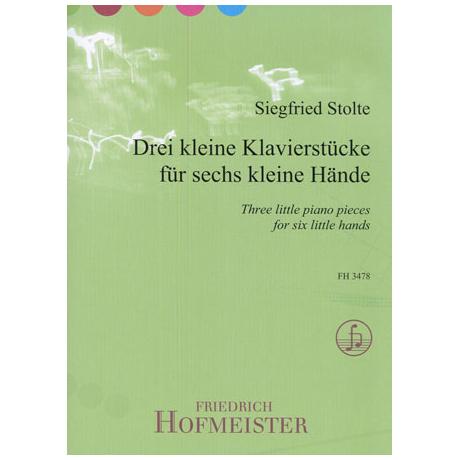 Stolte, S.: 3 kleine Klavierstücke