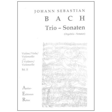 Bach, J.S.: Streichtrio: Trio-Sonaten Nr. II und V