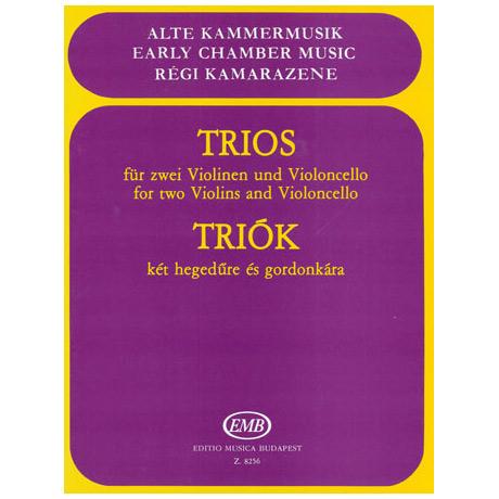 Alte Kammermusik: Trios