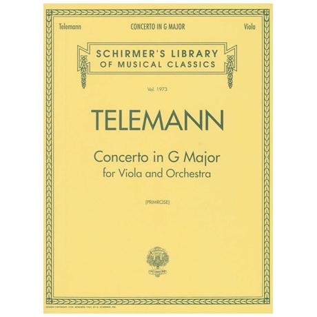 Telemann: Concerto G major