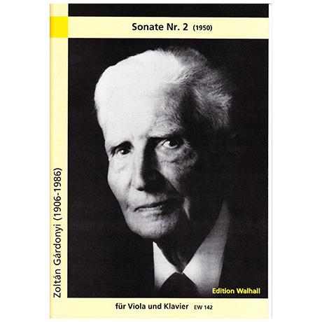 Gárdonyi, Z.: Sonate Nr.2