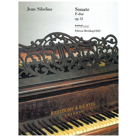 Sibelius, J.: Sonate F-Dur Op. 12