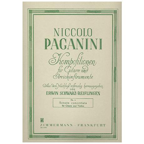 Paganini, N.: Sonata concertata