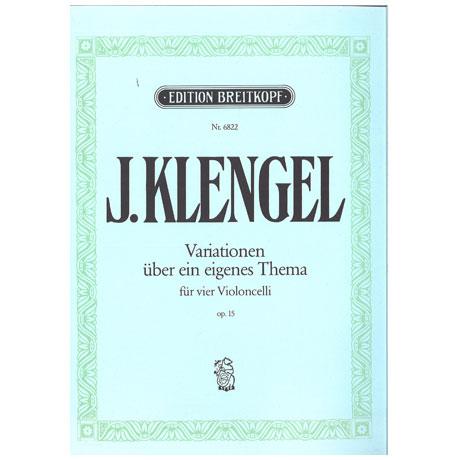 Klengel, J.: Variationen über ein eigenes Thema op. 15