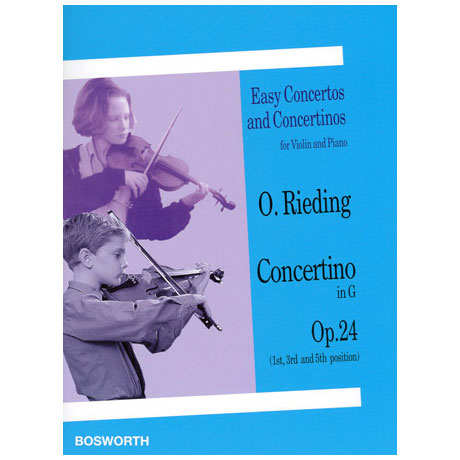 Rieding, O.: Concertino in G-Dur op.24