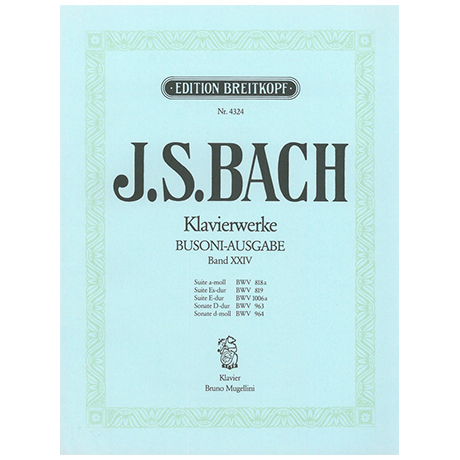 Bach, J. S.: Suiten und Sonaten