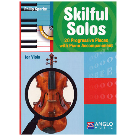 Sparke, P.: Skilful Solos (+CD)