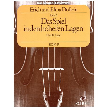 Doflein, E.: Das Geigen-Schulwerk Band 5