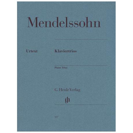 Mendelssohn Bartholdy, F.: Klaviertrios Op. 49 und Op. 66