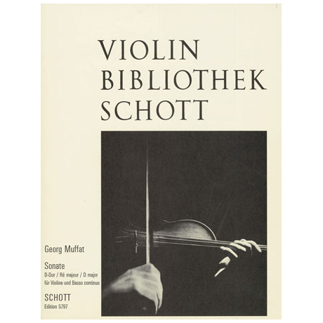 Muffat, G.: Violinsonate D-Dur