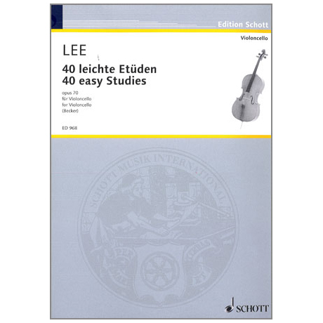 Lee, Sebastian: 40 leichte Etüden Op.70