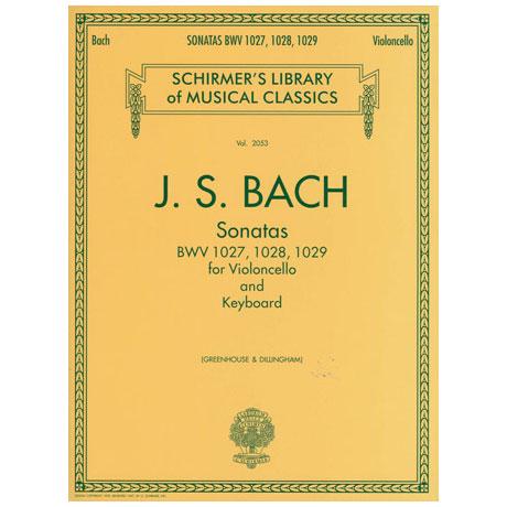Bach, J. S.: 3 Violoncellosonatas BWV 1027-1029