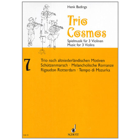 Badings, H.H.: Trio-Cosmos Nr.7