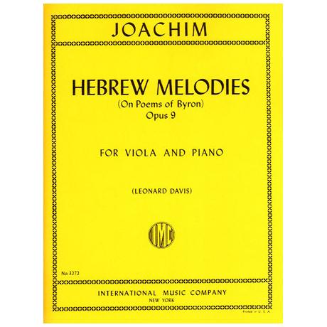 Joachim, J.: Hebräische Melodien Op. 9