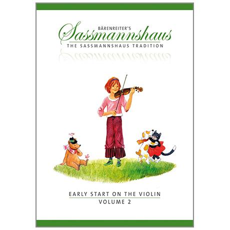 Sassmannshaus: Early Start on the Violin Vol.2