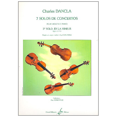 Dancla, J. B.: Solo de concerto la mineur Op. 77/3