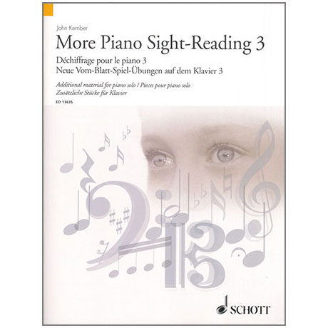 Kember, J.: More Piano Sight-Reading 3 – Neue Vom-Blatt-Spiel-Übungen auf dem Klavier 3