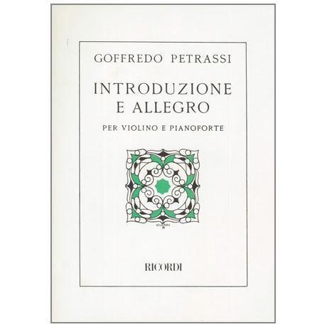 Petrassi, G.: Introduzione e Allegro