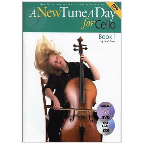 A New Tune A Day: Cello - Book 1 (DVD Edition)