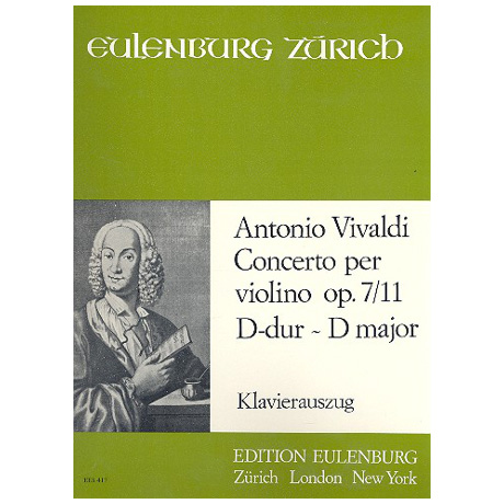 Vivaldi, A.: Violinkonzert Op. 7/11 RV 208 D-Dur – »Grosso Mogul«
