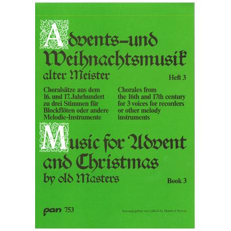 Advents - und Weihnachtsmusik alter Meister 3