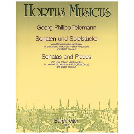 Telemann, G. Ph.: Violinsonaten und Spielstücke