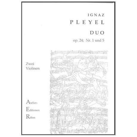 Pleyel, I.: 2 Duos (op. 24, Nr. 1 und 5)