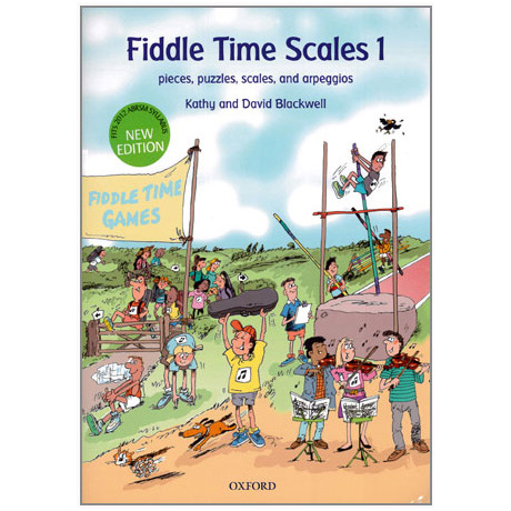 Blackwell:  Fiddle Time Scales Band 1