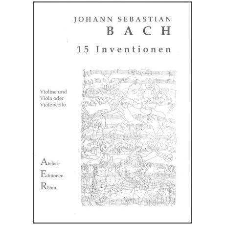 Bach, J.S.: Duo für Streicher: 15 zweistimmige Inventionen für Klavier
