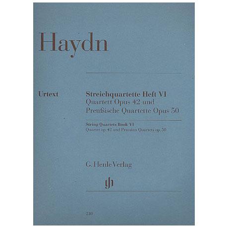 Haydn, J.: Streichquartette Band 6 (Preußische)