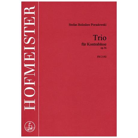 Poradowski, S. B.: Trio Op. 56