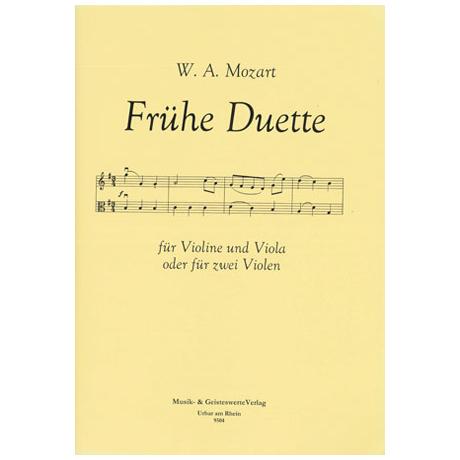 Mozart, W.A.: Frühe Duette