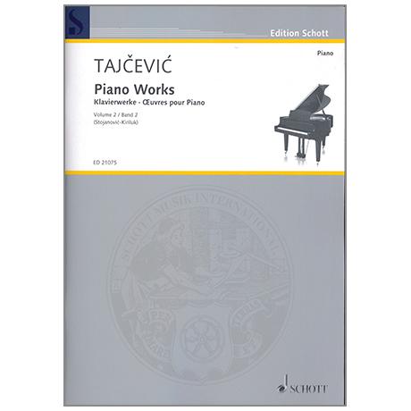 Tajcevic, M.: Klavierwerke Band 2