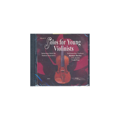 Solos for young Violinists Band 6 – Begleit-CD