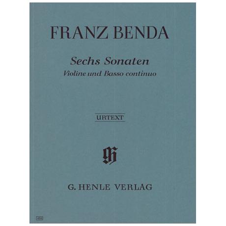 Benda, F.: 6 Violinsonaten