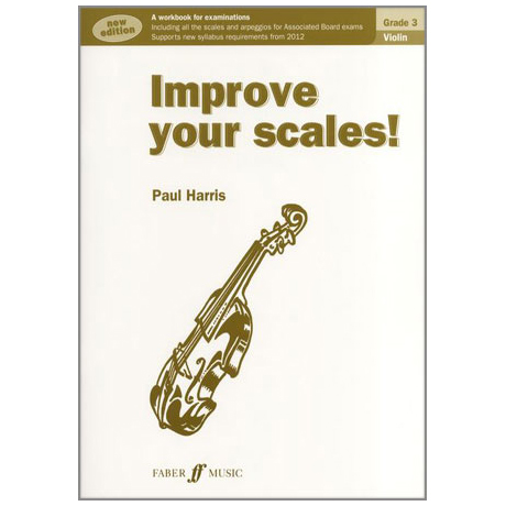 Harris, P.: Improve your scales Grade 3