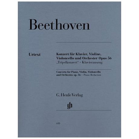 Beethoven, L.v.: Tripelkonzert C-Dur, Op. 56
